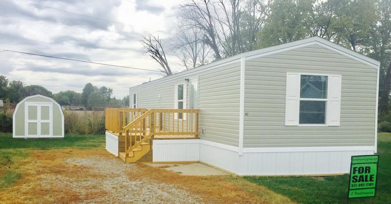 lot 61 mobile home villa u2013 brand new tru 2 bedroom 1 bath vinyl siding shingle roof central air deck minibarn new appliances included