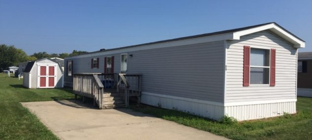 Lot 74 westar 94 Patriot 14×70 vinyl/shingle 3 bed 2 bath appliances included, central air, new carpet, new bathroom, mini barn, deck, newer roof $15900. 2000 down $275 mo 15% for 80 mo.