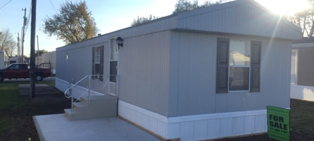 Lot #11 Mobile Home Villa  1994 Fairmont 14×64 2 bedroom, 1 bath, new paint inside and out, new skirting, new vinyl flooring, new carpet, newly coated roof, central air, new electric furnace, stove and refrigerator included, total electric $15,900 with $2,000 down $295/month @ 15% for approx. 72 months